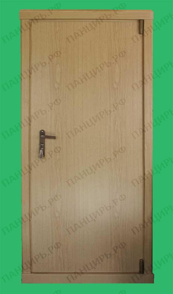 металлическая дверь с пленкой