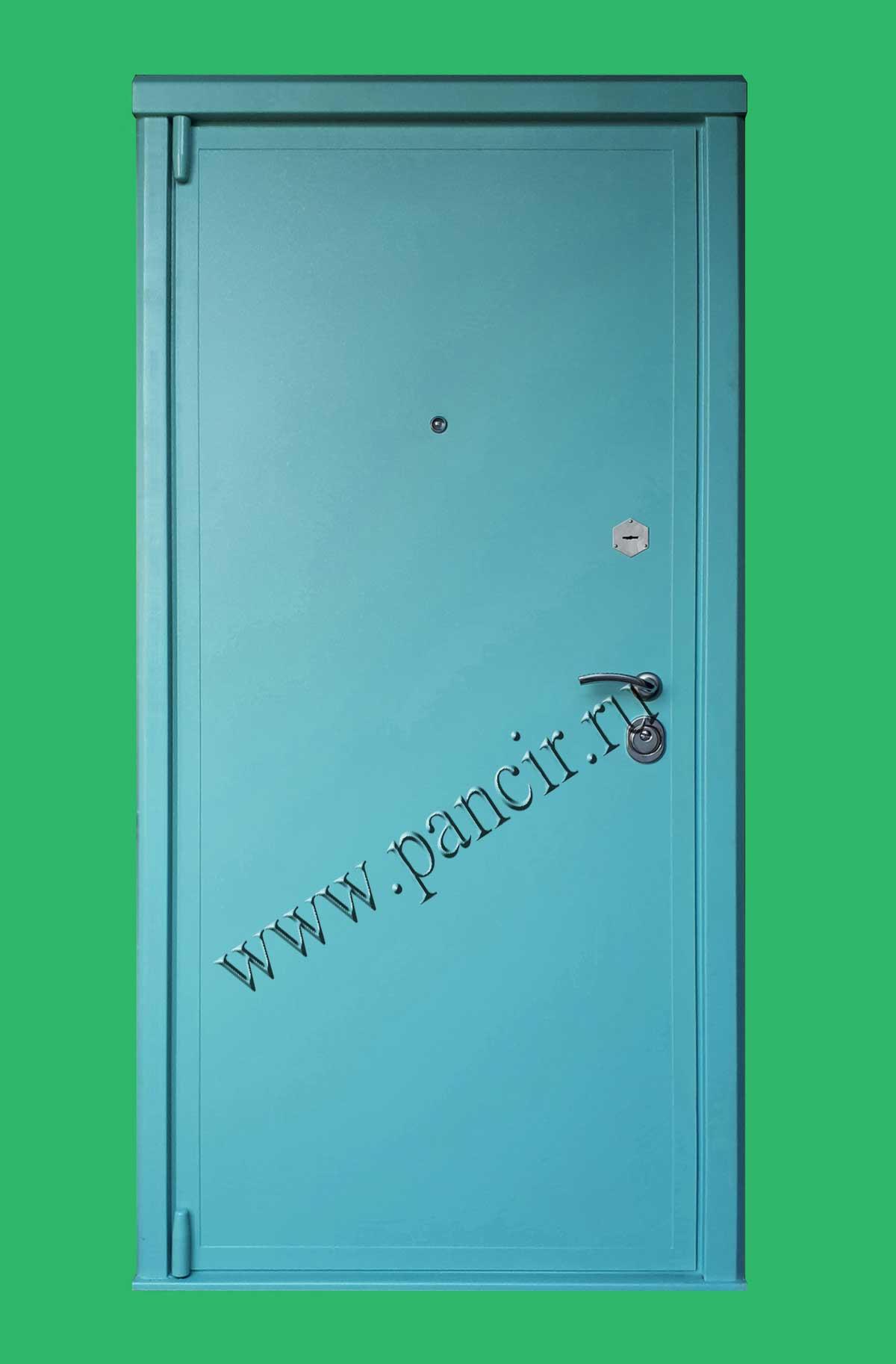 металлическая дверь порошок