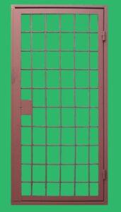 дверь-решетка