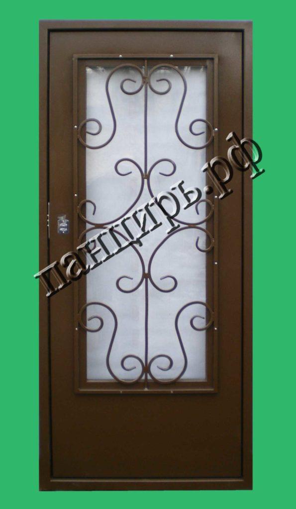 Дверь для газовой котельной с окном