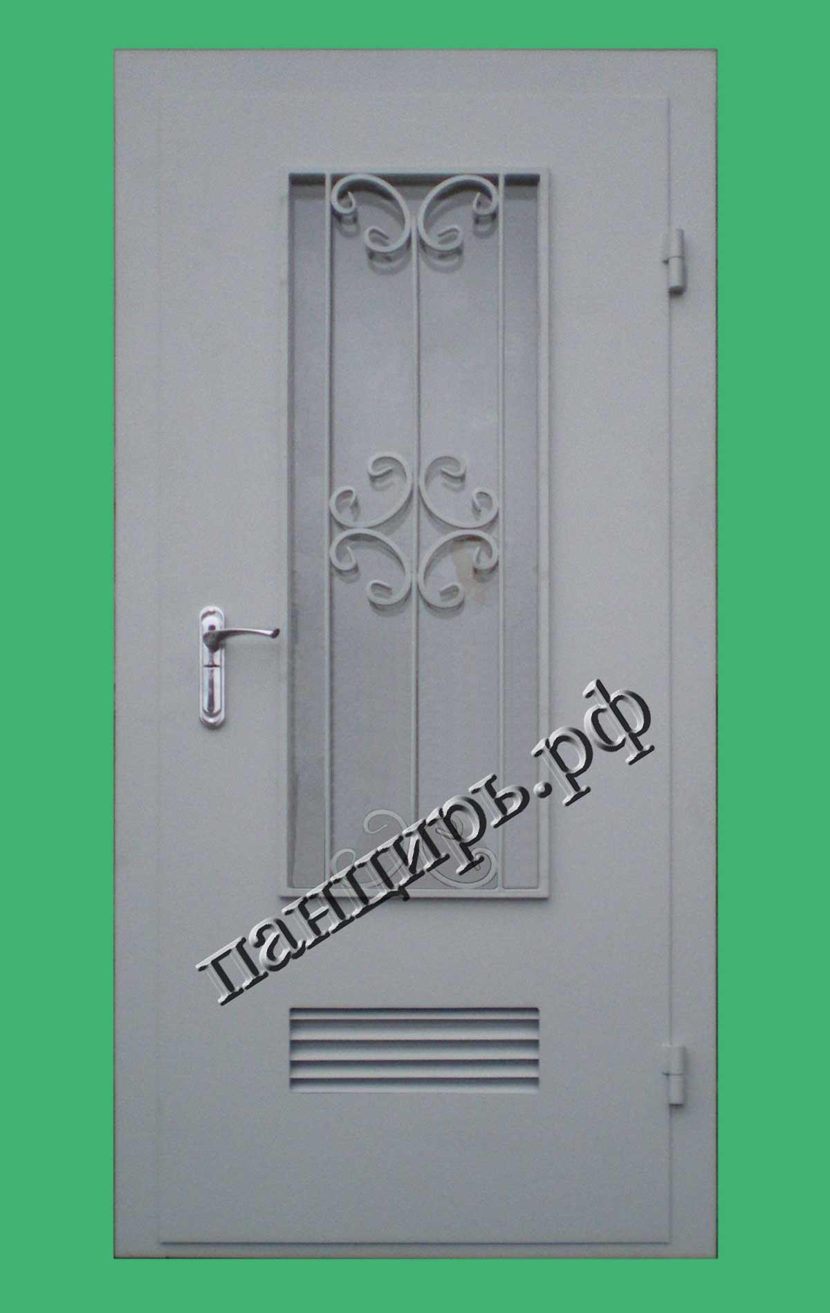 Входная дверь в котельную