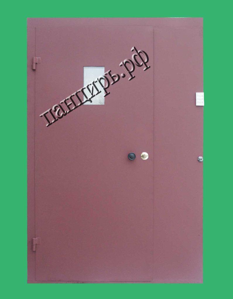 техническая дверь с окном