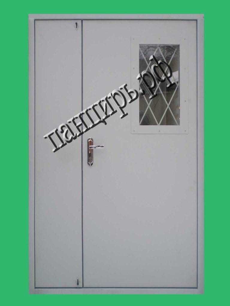 дверь с окном в тамбур
