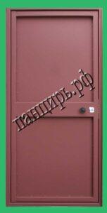 однолистовая металлическая дверь