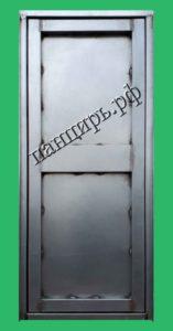 оцинкованная техническая дверь