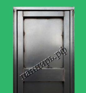 оцинкованная однолистовая техническая дверь