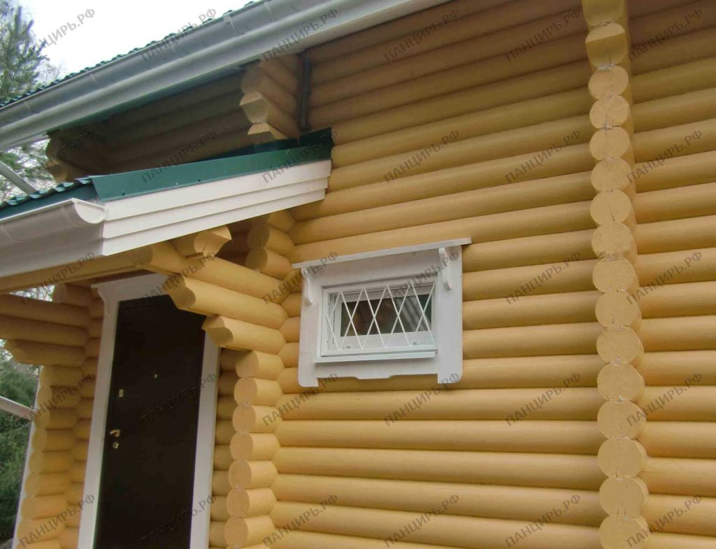 решетка на окно в душевую