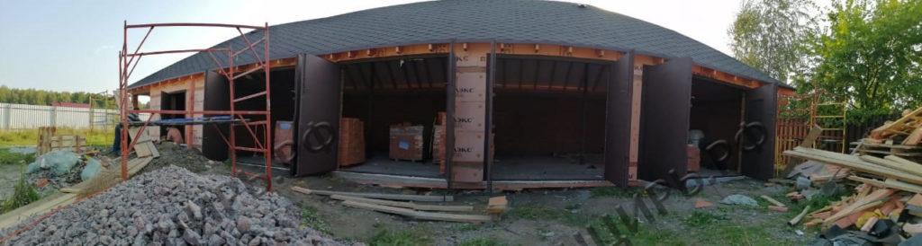 ворота в лодочный гараж