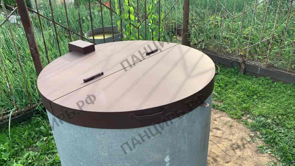 металлическая крышка для колодца