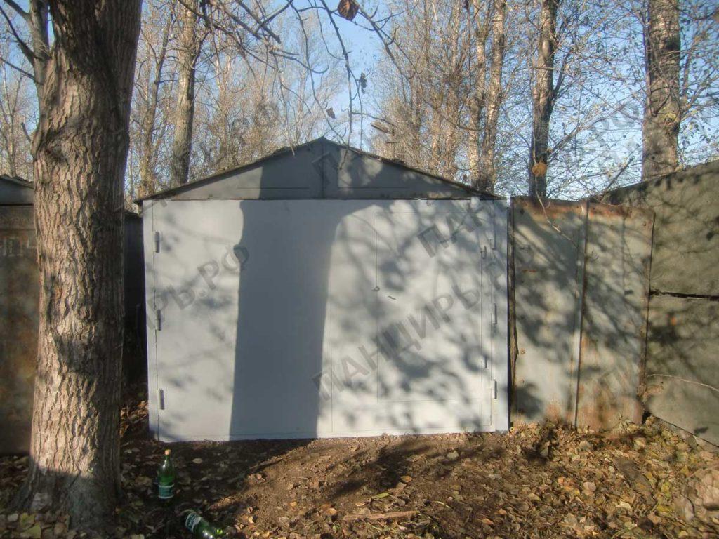 ижорский гараж с воротами