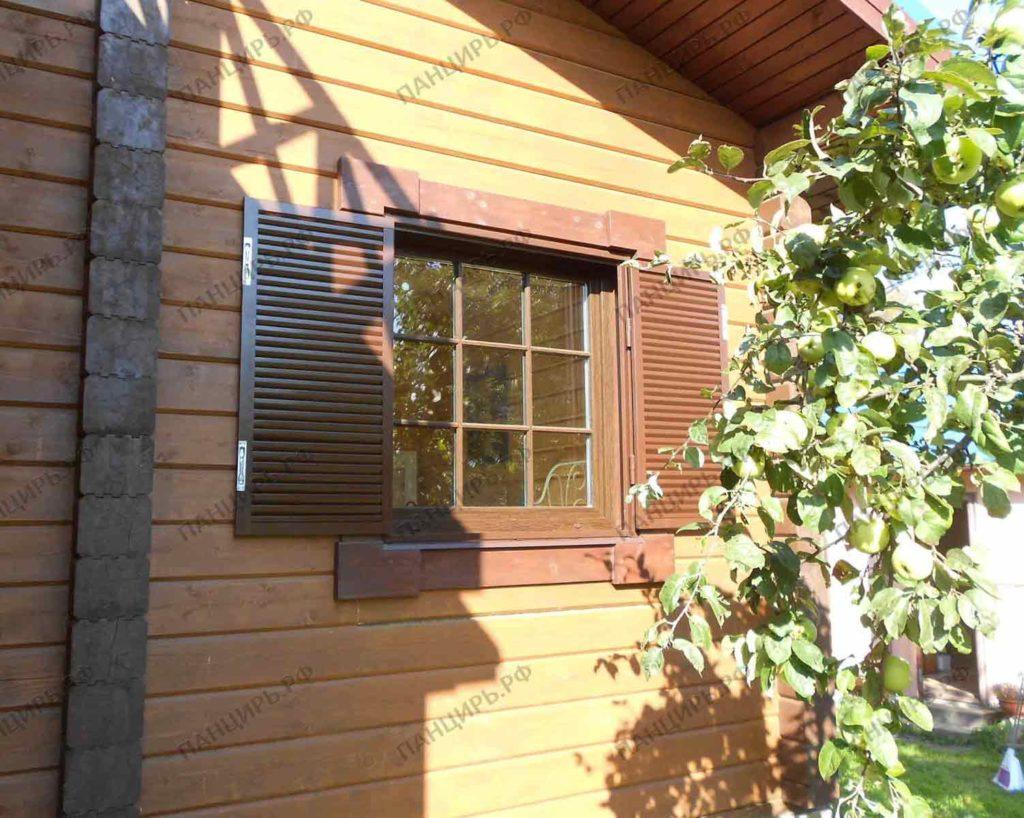 ставни жалюзи металлические на окна цена