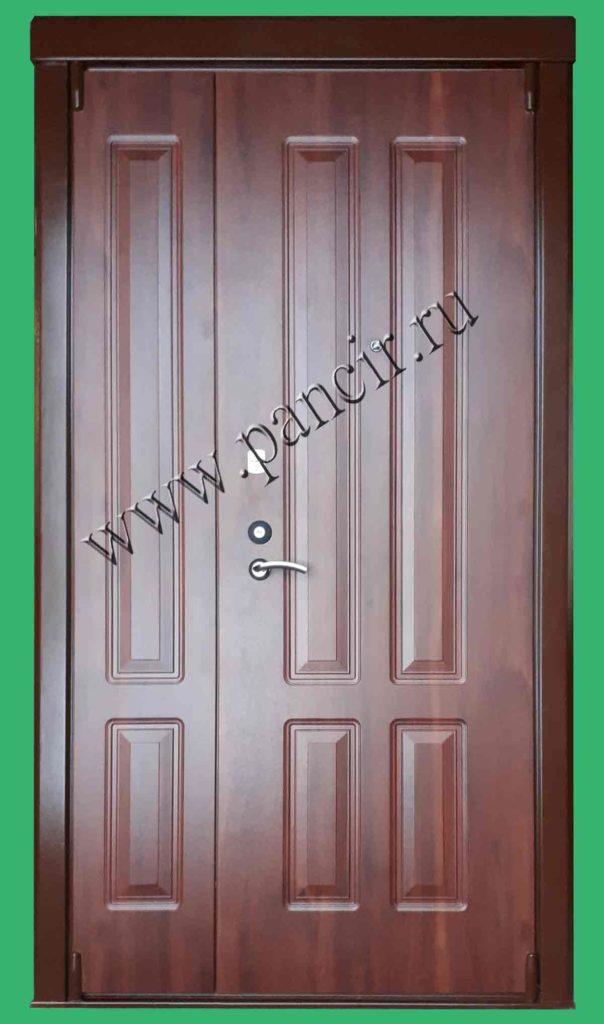 двухстворчатая дверь для старого фонда