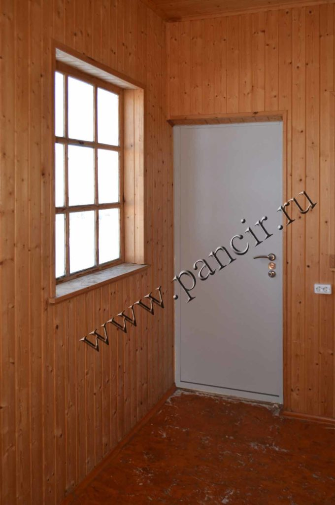 уличная теплая дверь