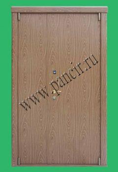 Внутренняя двухстворчатая дверь с отделкой немецкой пленкой d-c-fix