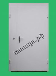 тамбурные двери, двухстворчатая