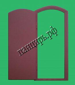 техническая нестандартная дверь
