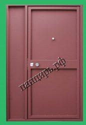 недорогая дверь на лестничную площадку