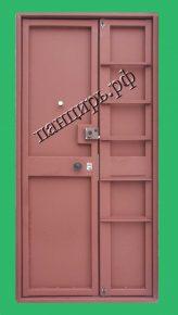 двухстворчатая техническая дверь