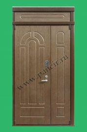 нестандартная дверь в старый фонд