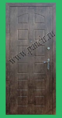 Одностворчатая дверь в старый фонд