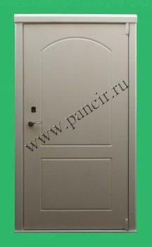 Внутренняя дверь со светлым МДФ